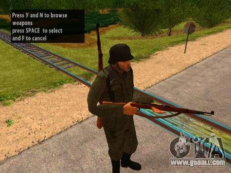 German soldiers for GTA San Andreas third screenshot