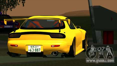 Mazda RX-7 for GTA San Andreas right view