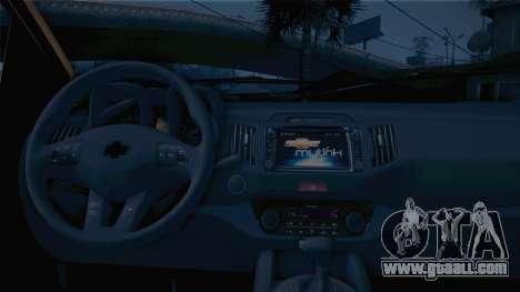 Chevrolet Nova S10 Detran-PB for GTA San Andreas back left view