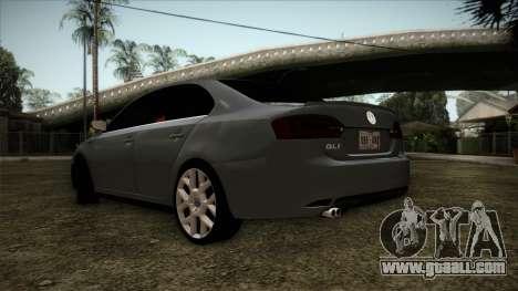 Volkswagen Jetta GLI Edition 30 2014 for GTA San Andreas left view
