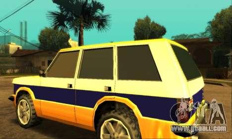 Luni Huntley for GTA San Andreas upper view