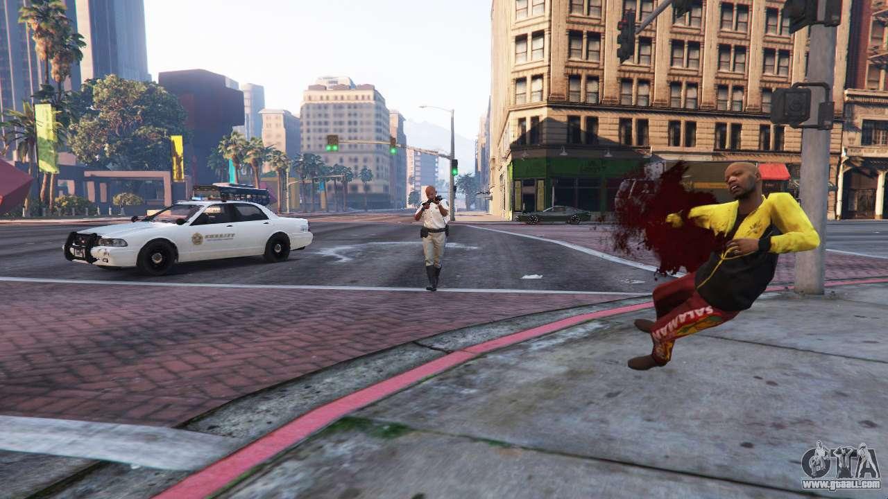The police simulator v0 1a Demo for GTA 5