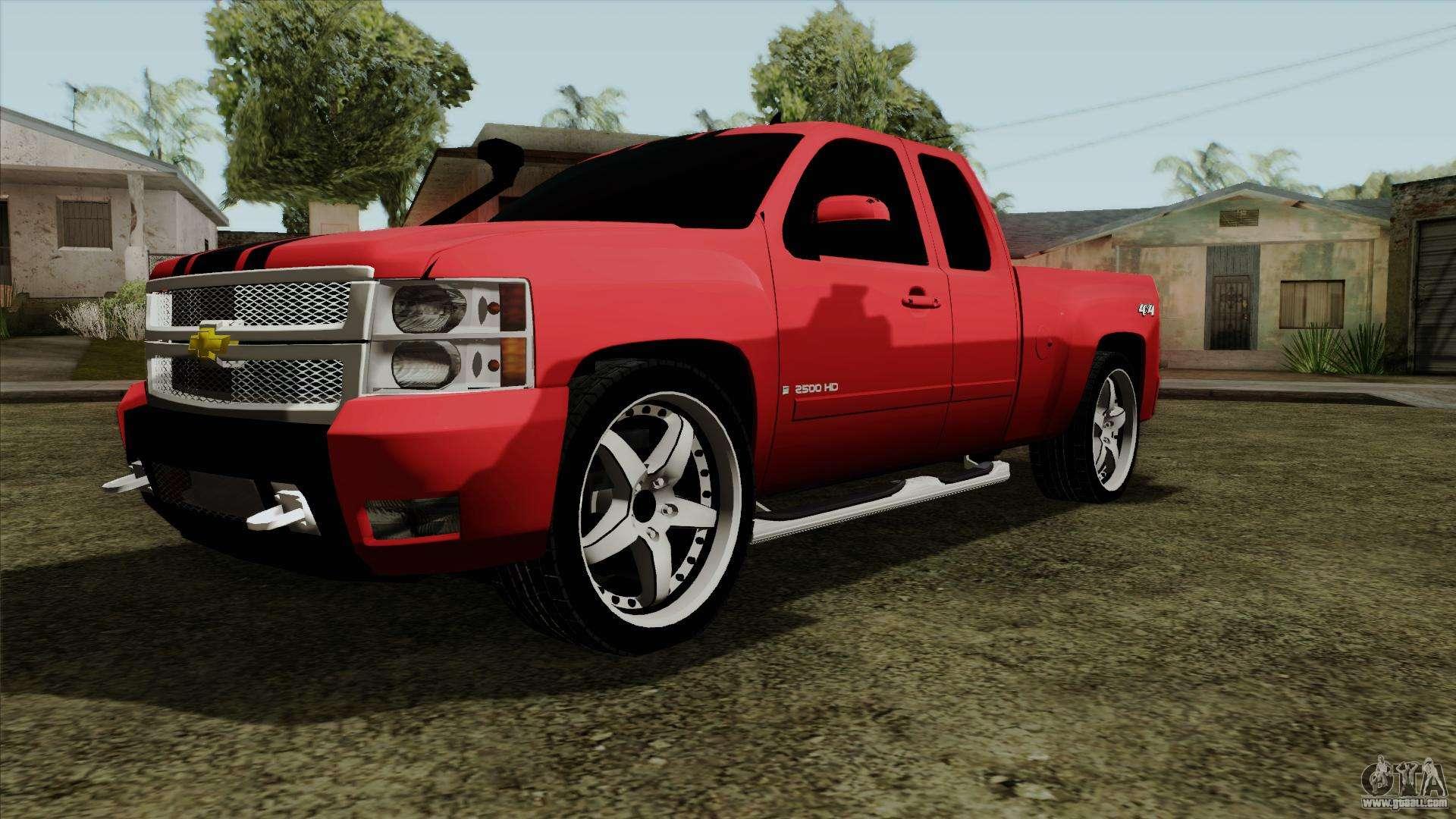 Chevrolet Silverado Tuning For Gta San Andreas
