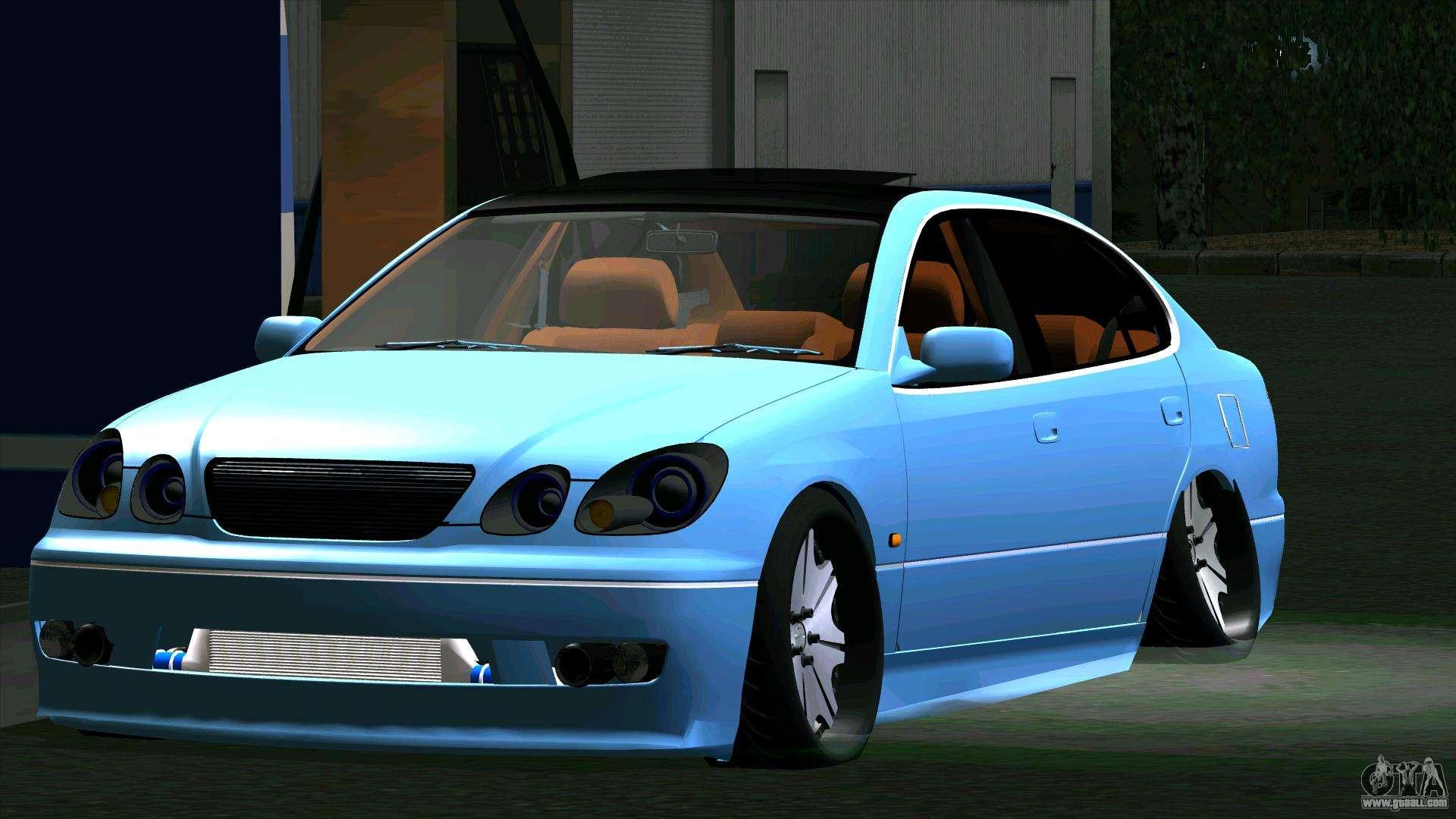 6 Passenger Vehicles >> Toyota Aristo for GTA San Andreas