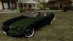 Ford Mustang Boss Cabriolet 2005 for GTA San Andreas