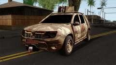 Dacia Duster Army Skin 4