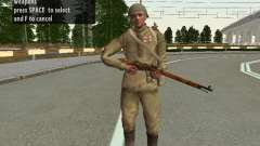 Soldiers of the red army in the helmet for GTA San Andreas