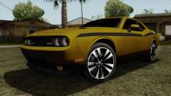 Dodge Challenger Yellow Jacket for GTA San Andreas