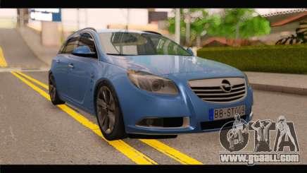 Opel Insignia Wagon for GTA San Andreas