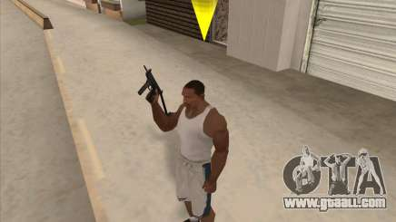 Russian submachine guns for GTA San Andreas