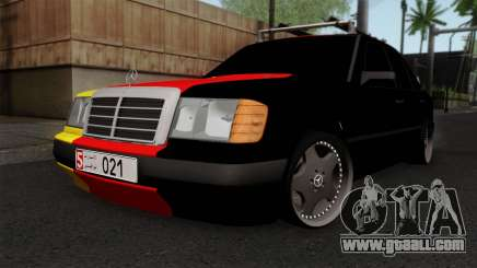 Mercedes-Benz W124 седан for GTA San Andreas