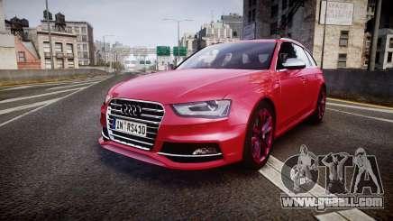 Audi S4 Avant 2013 for GTA 4
