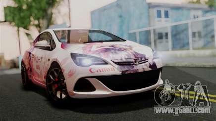 Vauxhall Astra VXR 2012 Itasha for GTA San Andreas
