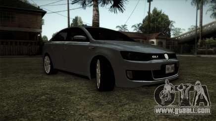 Volkswagen Jetta GLI Edition 30 2014 for GTA San Andreas