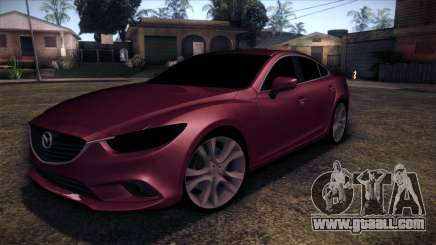 Mazda 6 2013 HD v0.8 beta for GTA San Andreas