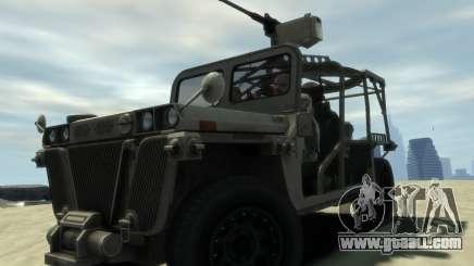 M1161 Growler for GTA 4