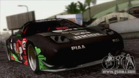 Acura NSX Miku Ghoul Itasha for GTA San Andreas upper view