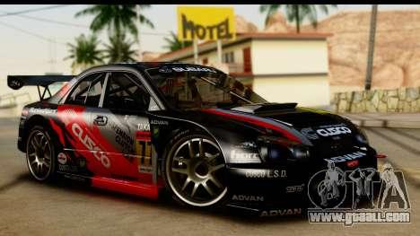 Subaru Impreza WRX STI 2003 JGTC for GTA San Andreas