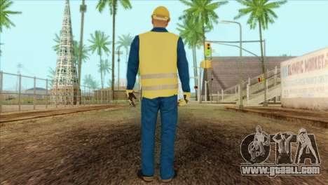 Takedown Redsabre NPC Shipworker v1 for GTA San Andreas second screenshot