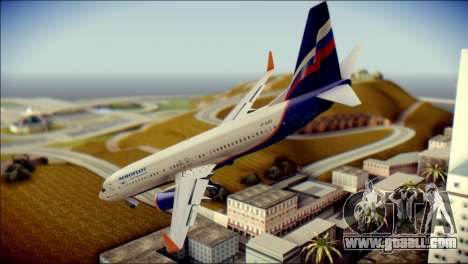 Boeing 737-800 Aeroflot for GTA San Andreas left view
