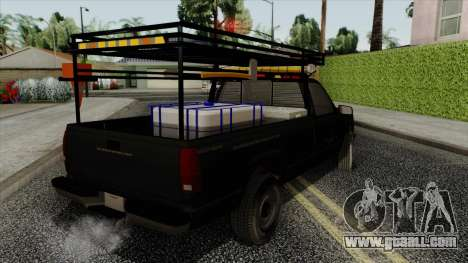 Chevrolet Silverado Military Utility Truck 1990 for GTA San Andreas left view