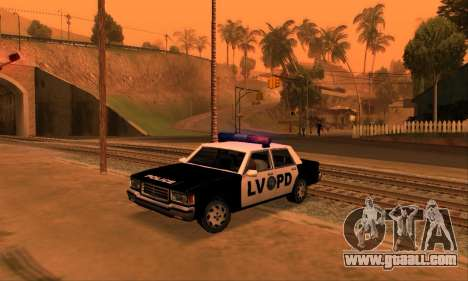 Beta LVPD Police for GTA San Andreas