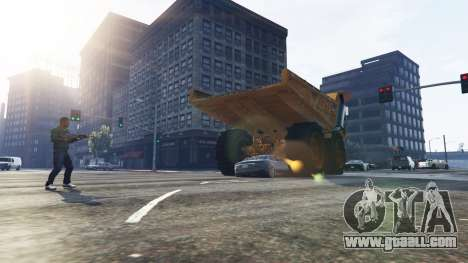 Vehicle Cannon for GTA 5