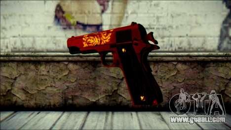 Dual Colt Red Dragon CF for GTA San Andreas second screenshot