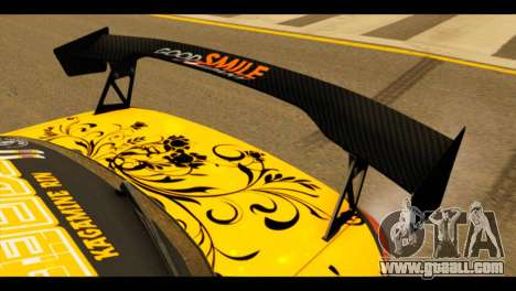 Nissan Silvia S15 Kagamine Rin Itasha for GTA San Andreas back view