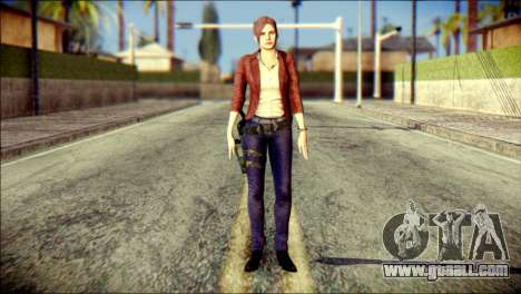 Claire Redfield from Resident Evil for GTA San Andreas