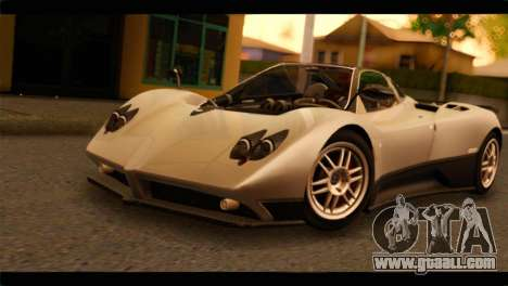 Pagani Zonda F for GTA San Andreas