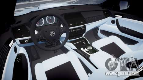 BMW X6 Tycoon EVO M 2011 Hamann for GTA 4 back view