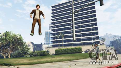 GTA 5 Gravitational weapons third screenshot