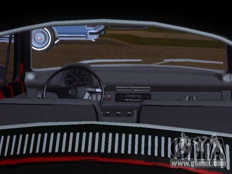 Volkswagen Super Beetle Grillos Racing v1 for GTA San Andreas engine