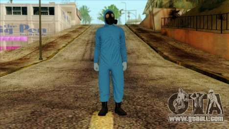 Skin 1 from Heists GTA Online DLC for GTA San Andreas