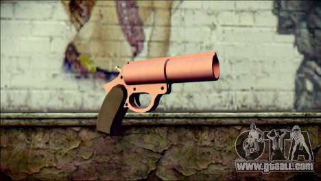 Pink Lanza Bengalas from GTA 5 for GTA San Andreas