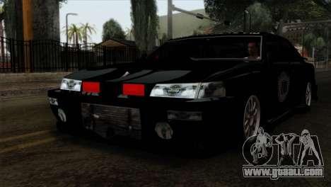 Sultan FIB for GTA San Andreas