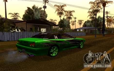 DGTK Elegy v1 for GTA San Andreas back view