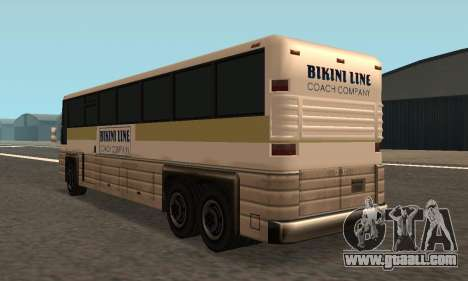 Coach Fixed for GTA San Andreas back left view