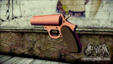 Pink Lanza Bengalas from GTA 5 for GTA San Andreas second screenshot