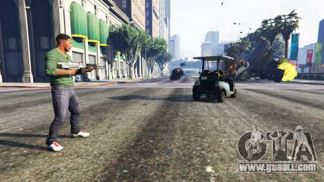 GTA 5 Vehicle Cannon second screenshot