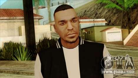Luis Skin from GTA 5 for GTA San Andreas third screenshot