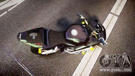 Honda CBR600RR Stunt for GTA 4 right view