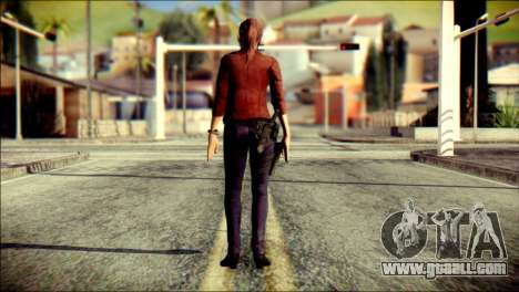 Claire Redfield from Resident Evil for GTA San Andreas second screenshot