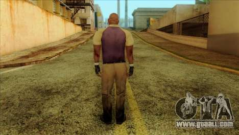 Coach from Left 4 Dead 2 for GTA San Andreas second screenshot