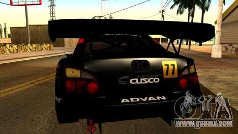 Subaru Impreza WRX STI 2003 JGTC for GTA San Andreas side view