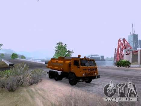 KamAZ 53212 for GTA San Andreas back left view