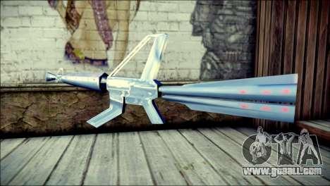 Laser Gun for GTA San Andreas second screenshot