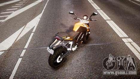 KTM 125 Duke for GTA 4 back left view
