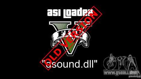 Asi Loader V for GTA 5